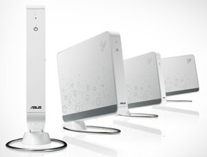 Este é o Eee Box, da Asus, que traz tecnologias adaptadas do netbook Eee.
