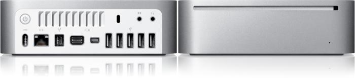 O Mac Mini, da Apple: pequeno, mas pode ser muito potente.