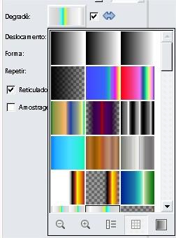Escolha o gradiente que você mais gostar!