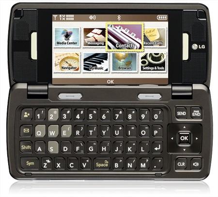 Um teclado QWERTY interno que permite trocar mensagens mais facilmente.