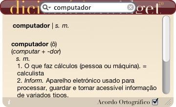 Dicionário.