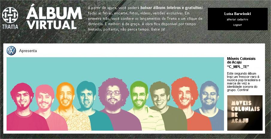 O projeto Álbum Virtual democratiza os CDs de artistas brasileiros