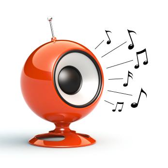 Caixas de som muito próximas podem causar interferência.