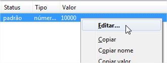 Selecione a opção Editar.
