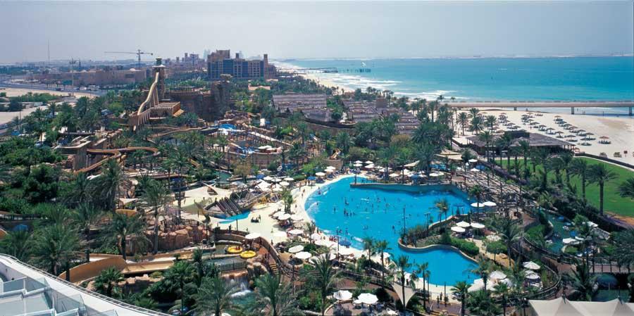 Wild Wadi Dubai - parque com dessalinização de água do mar.