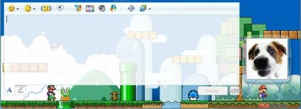 Windows Mario Messenger