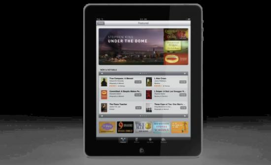 Preços na  iBookStore