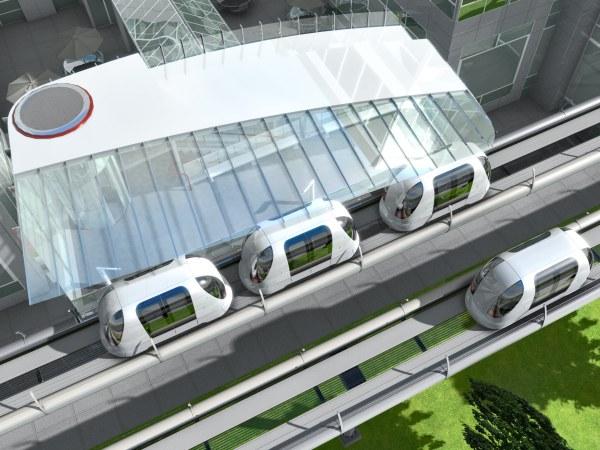 Exemplo em 3D de estação ULTra