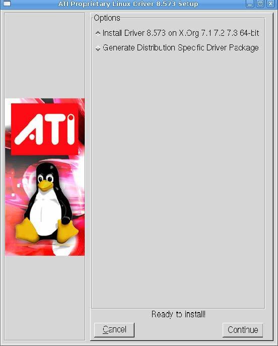 Instalador automático da ATI