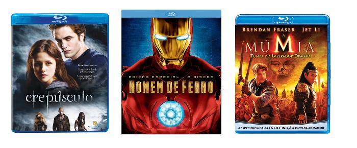 Discos de Blu-Ray