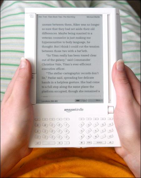 O Kindle ainda pode demorar a ser implementado