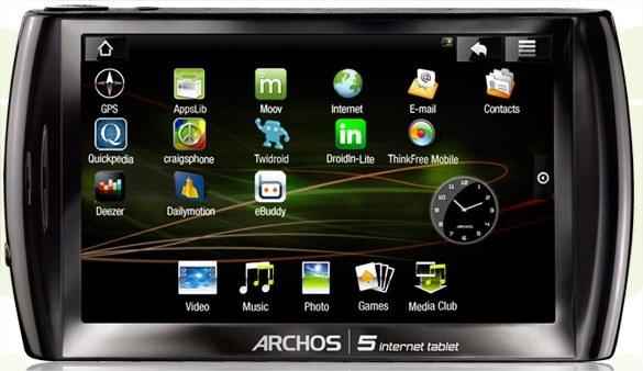 Archos 5 Internet Tablet