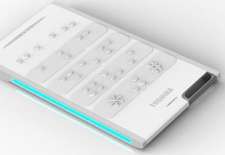 Celular Tactility da Toshiba