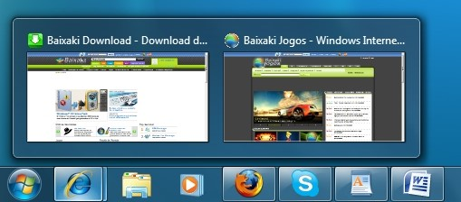 Novo visual do Windows 7
