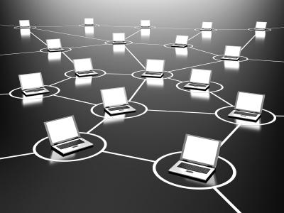 Rede ad hoc - conexão direta entre os computadores