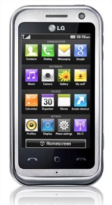 LG Arena - Um smartphone feito para você!