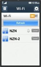 Utilize uma rede Wi-Fi e divirta-se na web