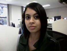 Foto capturada com a câmera de vídeochamadas