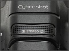 Sony Cyber-shot DSC-HX1 - Microfone