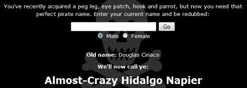 Nome de pirata (clique para acessar)