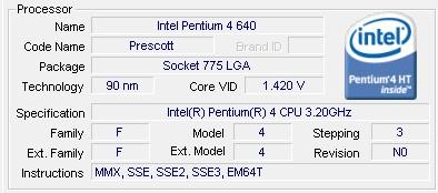 Processador com tecnologia Hyper-threading