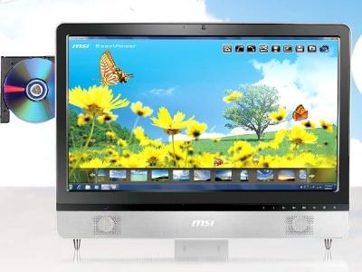 MSI all-in-one com tela 3D