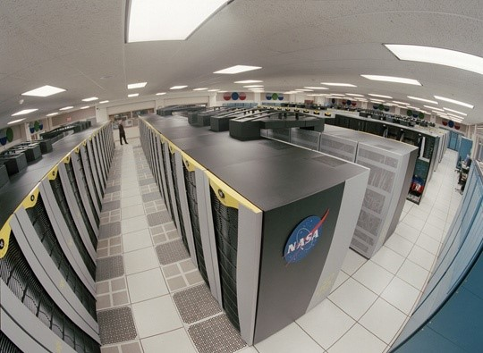 Exemplo de supercomputador da NASA