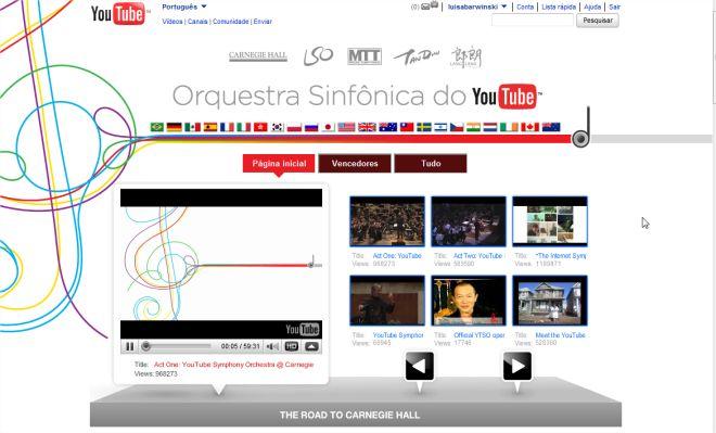 O YouTube descobriu milhares de talentos da música!