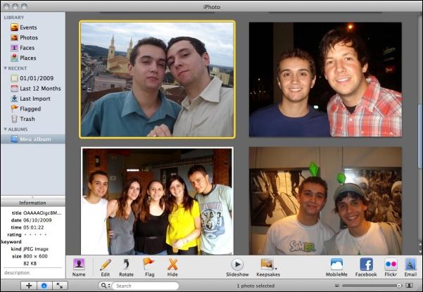 Gerenciamento de fotos prático pelo Mac.