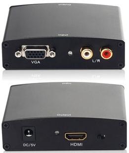 Um conversor VGA para HDMI.