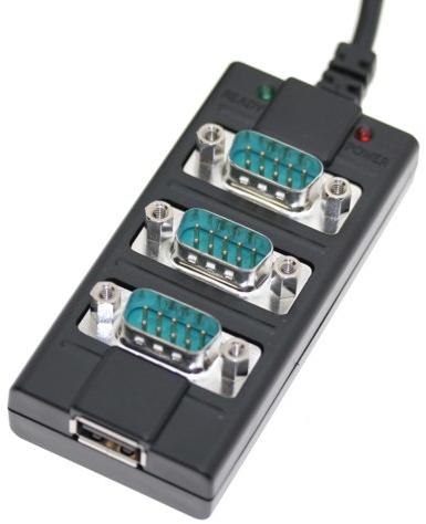 Os adaptadores Serial e USB também são bastante utilizados.