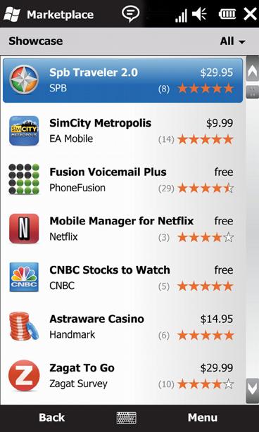 Assim como na App Store, você pode baixar programas grátis ou pagos!