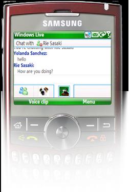 Converse no MSN como se estivesse no computador