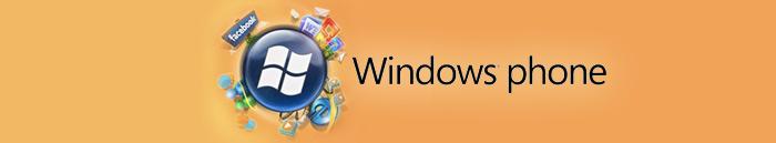 Windows Phone: celular + aplicativos + serviços!