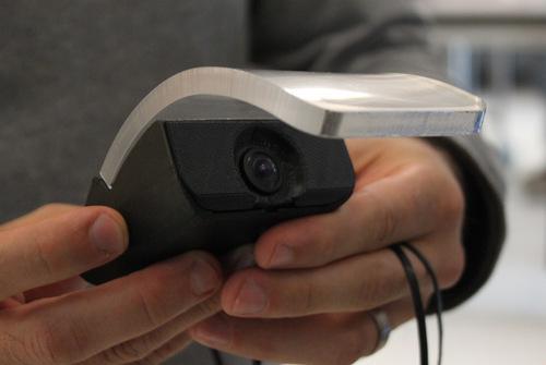 A superfície em acrílico curvado dá um toque especial ao mouse!