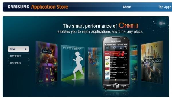 AppStore da Samsung