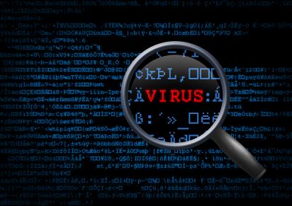 A busca por vírus