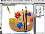 Interface dos pincéis no Photoshop CS 5