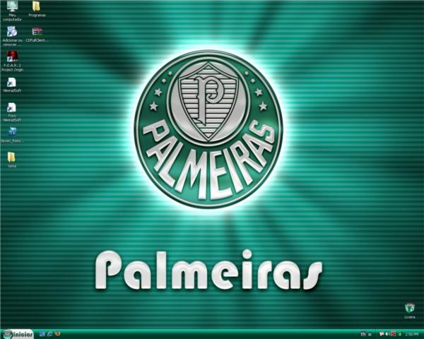 Tema do Palmeiras para Windows XP (clique para acessar)