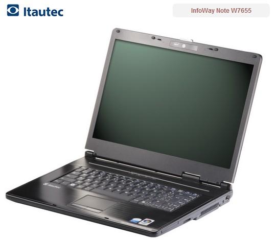 Modelo: notebook W7655