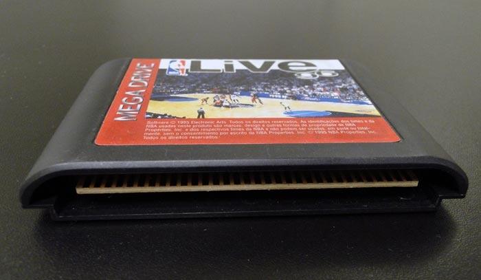 Cartucho de Mega Drive. Lembra dele?