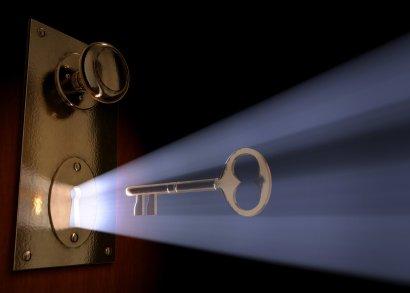 A chave para o acesso eterno!