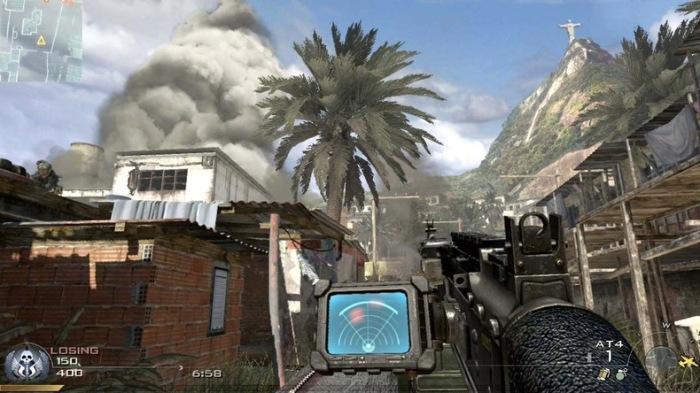 Rio de Janeiro retratado em Modern Warfare 2