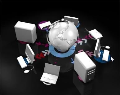 Servidor, a web e seu computador conectados