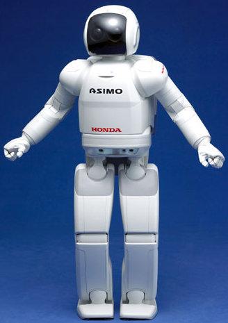 O robô Asimo foi batizado em homenagem a Isaac Asimov