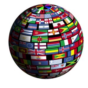 Internet em todas as línguas também no endereço