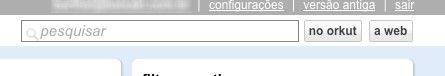 Pesquise no Orkut e no Google