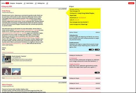 Mensagens filtradas e com categorias bem definidas