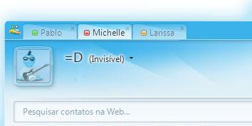 Navegação por abas no MSN?