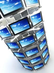 Acesso remoto em múltiplos monitores.